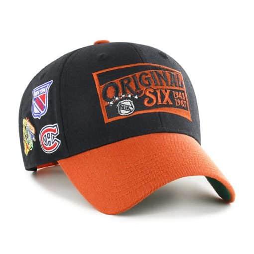 Original Six 47 Brand Black Two Tone MVP Adjustable Hat