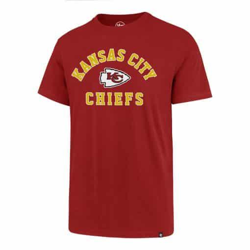 Kansas City Chiefs Men's 47 Brand Red Super Rival T-Shirt Tee