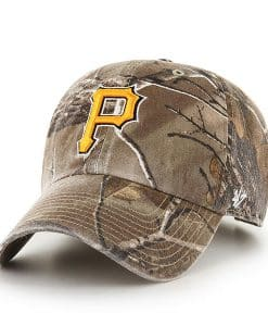 Pittsburgh Pirates 47 Brand Camo Realtree Clean Up Adjustable Hat