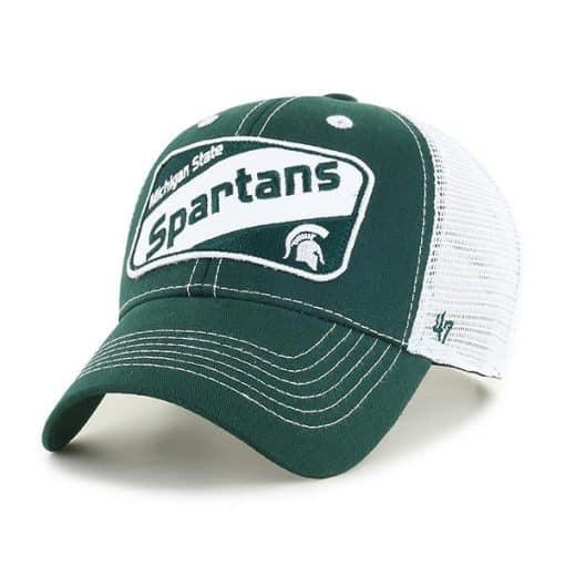 Michigan State Spartans KIDS 47 Brand Green Woodlawn MVP Adjustable Hat