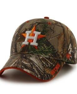 Houston Astros 47 Brand Camo Realtree Frost Adjustable Hat