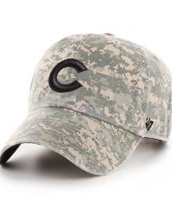 Chicago Cubs 47 Brand Digital Camo Clean Up Adjustable Hat