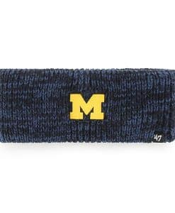 Michigan Wolverines Women's 47 Brand Navy Meeko Headband