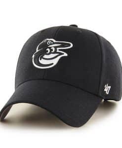 Baltimore Orioles 47 Brand Black White MVP Adjustable Hat