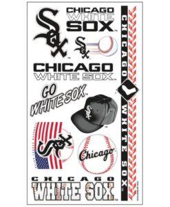 Chicago White Sox Temporary Tattoos