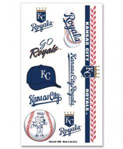 Kansas City Royals Temporary Tattoos