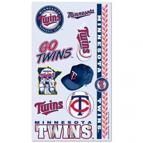 Minnesota Twins Temporary Tattoos