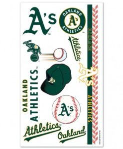 Oakland Athletics Temporary Tattoos