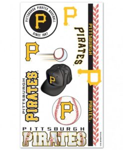 Pittsburgh Pirates Temporary Tattoos