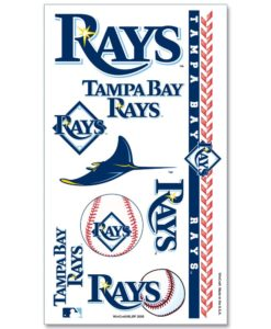 Tampa Bay Rays Temporary Tattoos