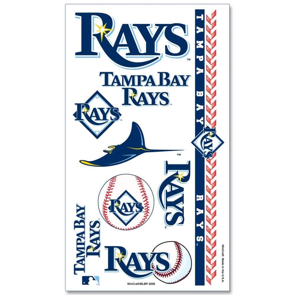 Tampa Bay Rays Temporary Tattoos