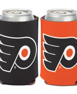 Philadelphia Flyers 12 oz Black Orange Can Koozie Holder