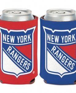 New York Rangers 12 oz Blue Red Can Koozie Holder
