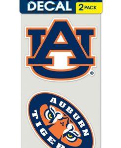 Auburn Tigers Set of 2 Die-Cut Decals