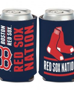 Boston Red Sox 12 oz Navy Slogan Can Koozie Holder