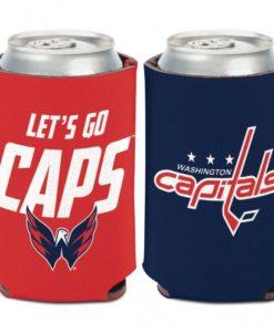 Washington Capitals 12 oz Navy Red Slogan Can Koozie Holder