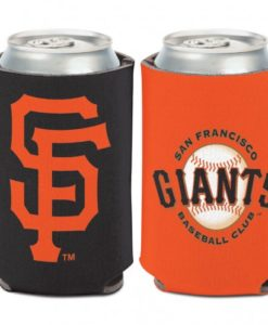 San Francisco Giants 12 oz Black Orange Can Koozie Holder