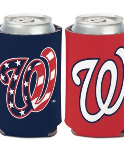 Washington Nationals 12 oz Red Navy Can Koozie Holder