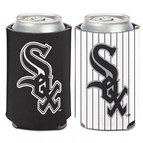 Chicago White Sox 12 oz Black White Can Koozie Holder