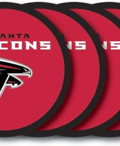 Atlanta Falcons Coaster Set - 4 Pack
