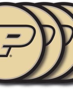 Purdue Boilermakers Coaster Set - 4 Pack