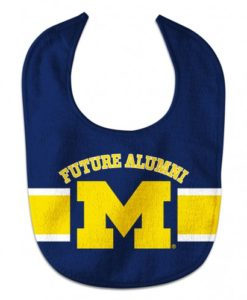 Michigan Wolverines NCAA Baby Bib - All Pro Future Alumni