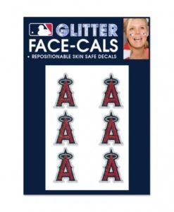 Los Angeles Angels Temporary Glitter Tattoos