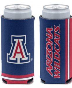 Arizona Wildcats 12 oz Navy Slim Can Koozie Holder