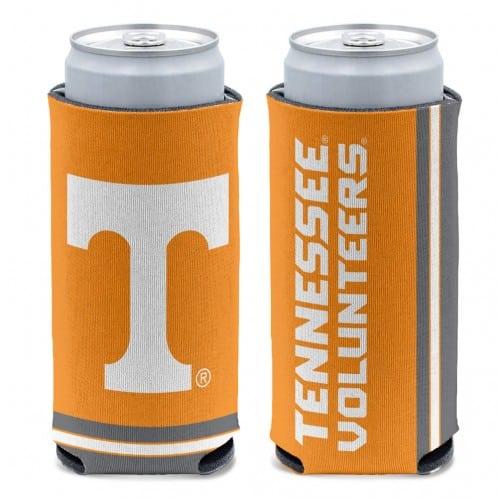 Tennessee Volunteers 12 oz Orange Slim Can Koozie Holder