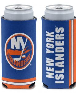 New York Islanders 12 oz Blue Slim Can Koozie Holder