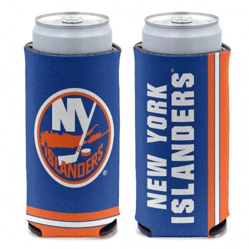 New York Islanders 12 oz Blue Slim Can Koozie Holder