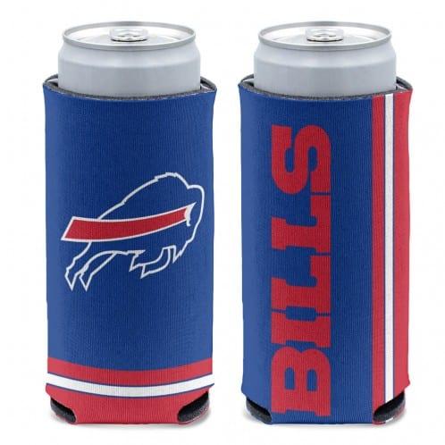 Buffalo Bills 12 oz Blue Slim Can Koozie Holder