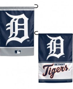 Detroit Tigers MLB 12.5″x18″ 2 Sided Navy Garden Flag