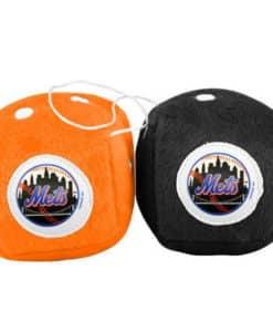 New York Mets Fuzzy Dice