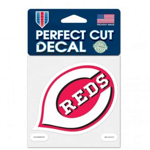 "Cincinnati Reds 4""x4"" Perfect Cut Color Decal"