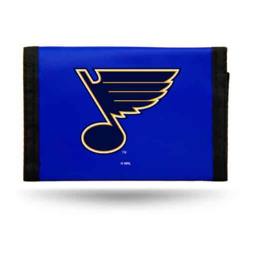 St Louis Blues Nylon Trifold Wallet