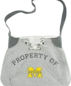 Michigan Wolverines Hoodie Sling Purse Bag
