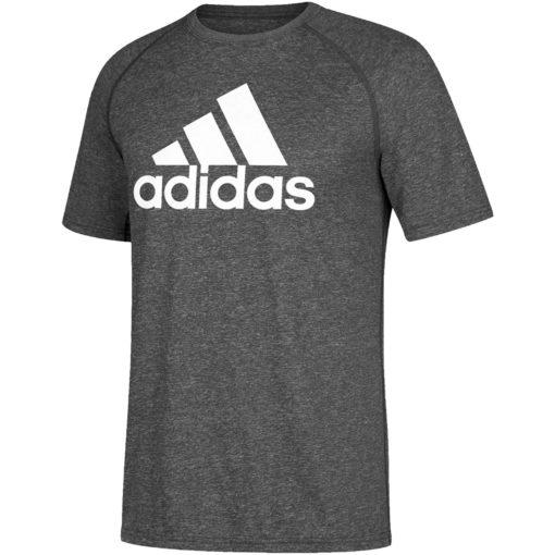 Men's Adidas Ultimate Heather Gray T-Shirt Tee