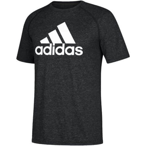 Men's Adidas Climalite Heather Black T-Shirt Tee
