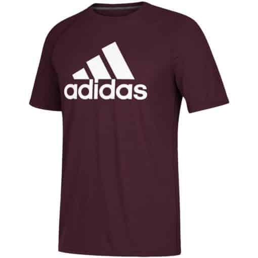 Men's Adidas Ultimate Maroon T-Shirt Tee