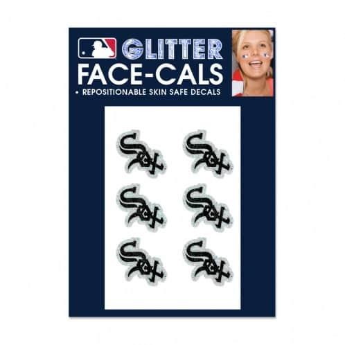 Chicago White Sox Temporary Glitter Tattoos