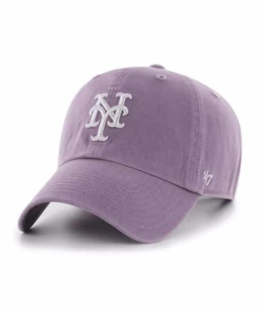 New York Mets Women's 47 Brand Iris Clean Up Adjustable Hat