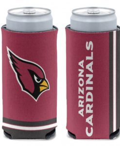 Arizona Cardinals 12 oz Red Slim Can Koozie Holder