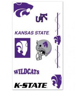 Kansas State Wildcats Temporary Tattoos