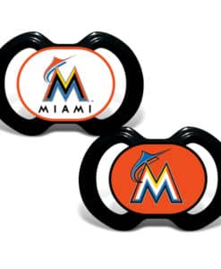 Miami Marlins Pacifier - 2 Pack