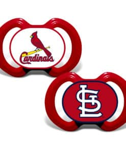 St. Louis Cardinals Pacifier Red - 2 Pack