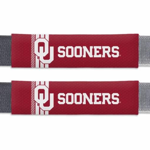 Oklahoma Sooners Rally Design Seat Belt Pads