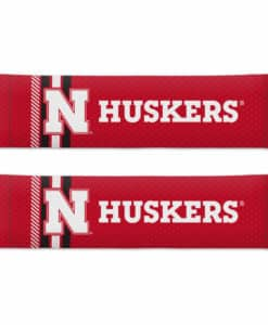 Nebraska Cornhuskers Rally Design Seat Belt Pads