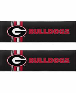 Georgia Bulldogs Rally Design Seat Belt Pads