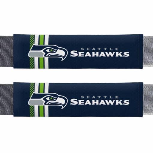 Seattle Seahawks Rally Design Seat Belt Pads